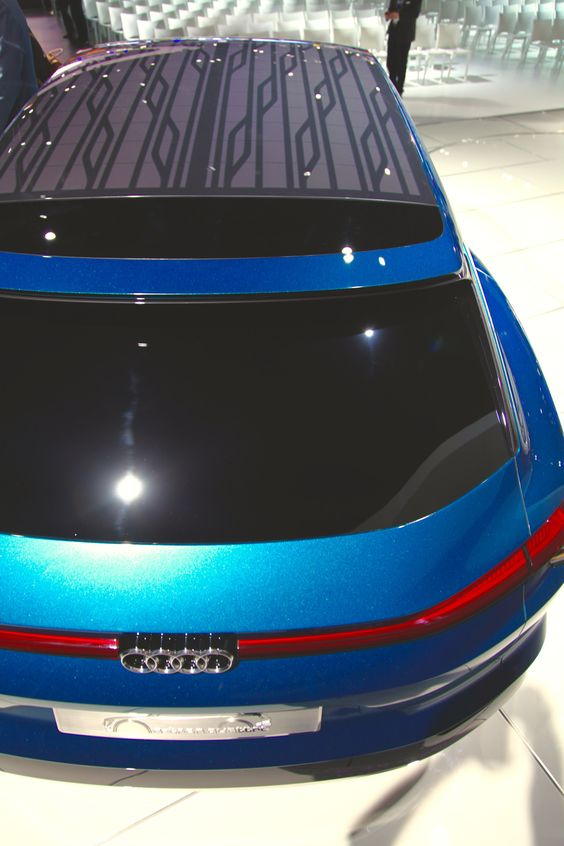Initially, the project is expected to lead to Alta Devices solar cells being integrated into a panoramic glass roof and later be integrated on as much of an EV's roof surface. The electricity generated would be intended to support air-conditioning and seat heater applications, reducing the demand on the battery system. Image: Audi