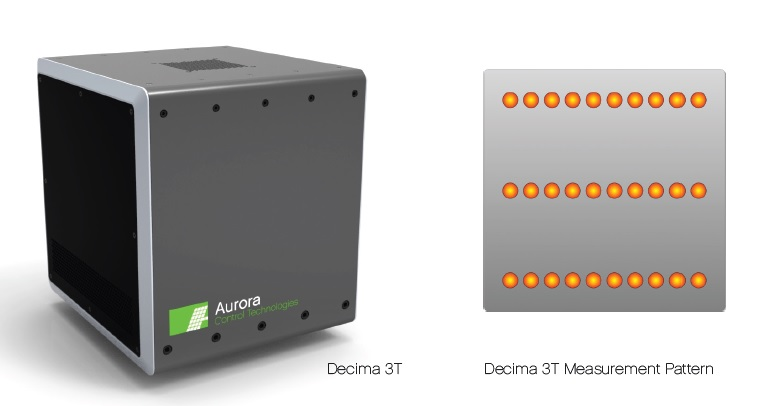 The DM-110 measures emitter sheet resistance inline at full production speeds. The sensor uses safe reflected infrared light to produce high-resolution characterization of emitter sheet resistance from edge-to-edge on a wafer. Image: AST
