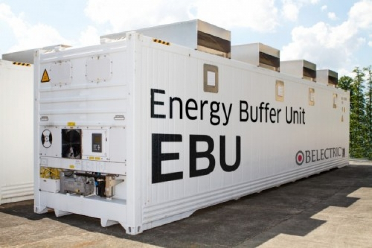 Belectric's Energy Buffer Unit. Image: Belectric.