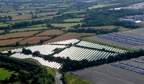 Image: Bluefield's existing Norfolk Solar Farm in the UK.