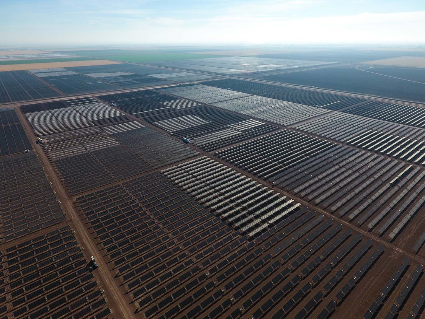 Solar Frontier Americas held a ribbon-cutting ceremony for Midway I & II solar projects on 12 December. Source: Solar Frontier
