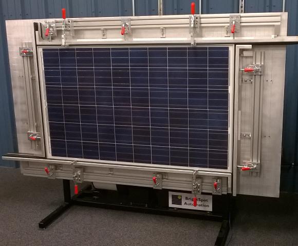 BrightSpot Automation's LoadSpot panel durability testing system. Source: BrightSpot Automation