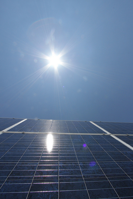 In July Canadian solar commissioned a a 100MW PV plant in Ontario financed by CC&L. Credit: Canadian Solar