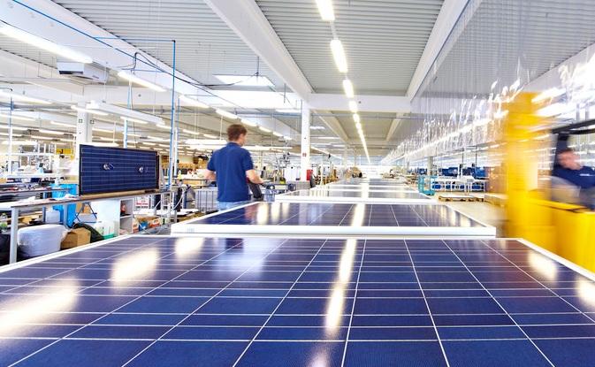 Large European PV manufacturers such as SolarWorld and Centrosolar went bankrupt. Image: Centrosolar