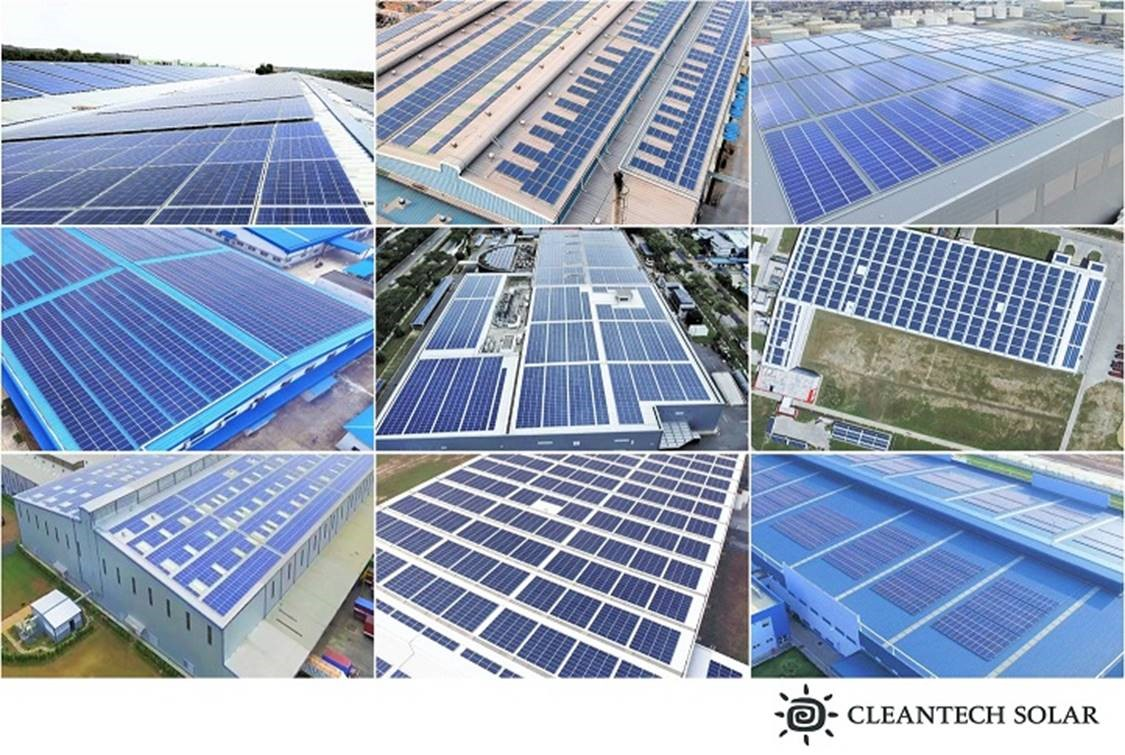 The two firms are targeting generation of more than 600GWh of clean electricity per annum. Credit: Cleantech