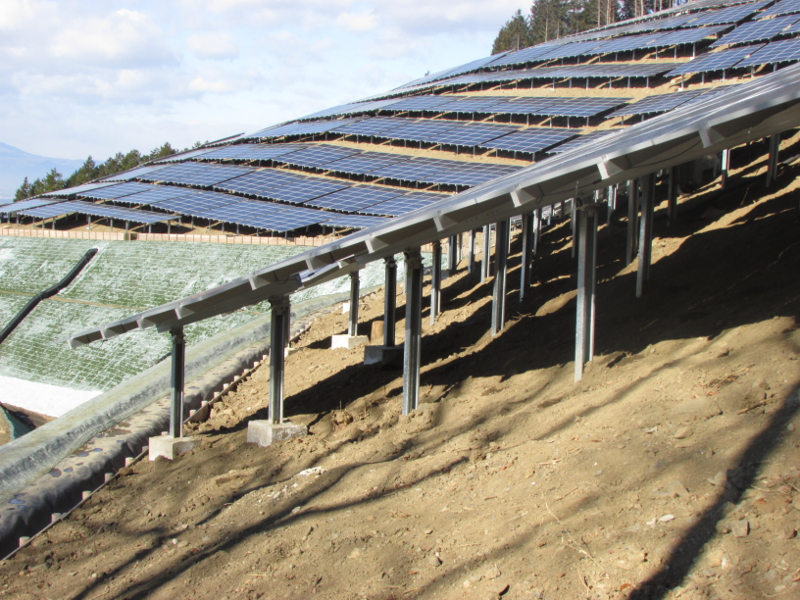 Japan installed an estimated 10GW of PV in 2015, with the vast majority in large-scale projects. Image: Clenergy.