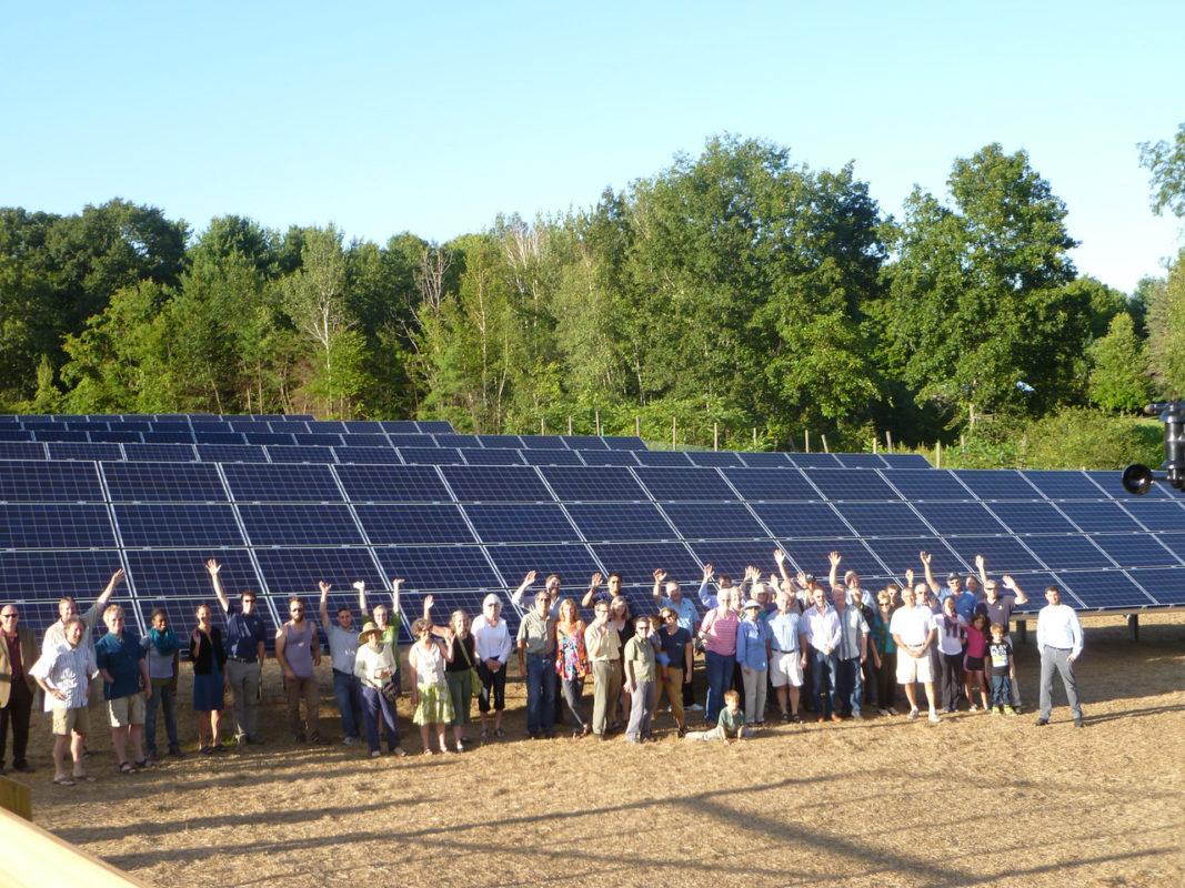 Clean Energy Collective's community solar garden in Colorado. Source: Forbes