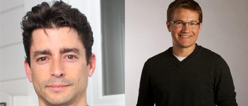 Yaron Glazer (left) and Brian von Moos (right). Source: Twitter & eqmagpro