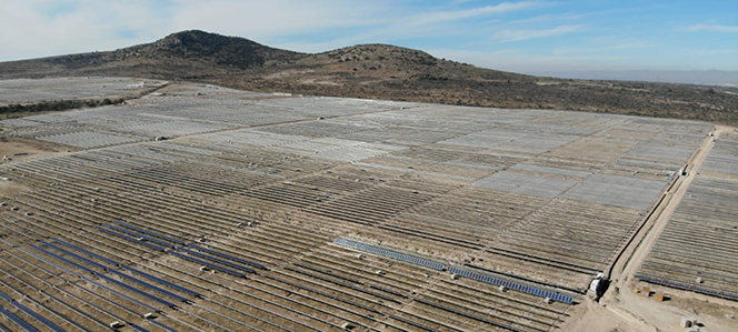 Four PV plants including 158.6MW Trompezon should be built by 2020 under the joint venture (Credit: Engie)