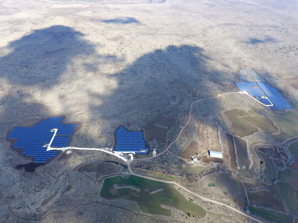 Recent project in Turkey built by IBC Solar. Image: IBC Solar