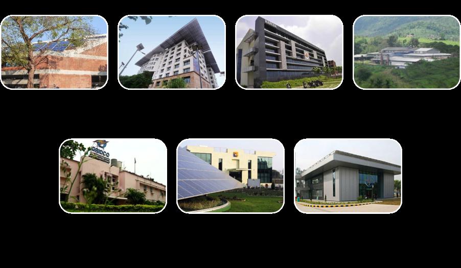 Figure 1: NZEBs established in India