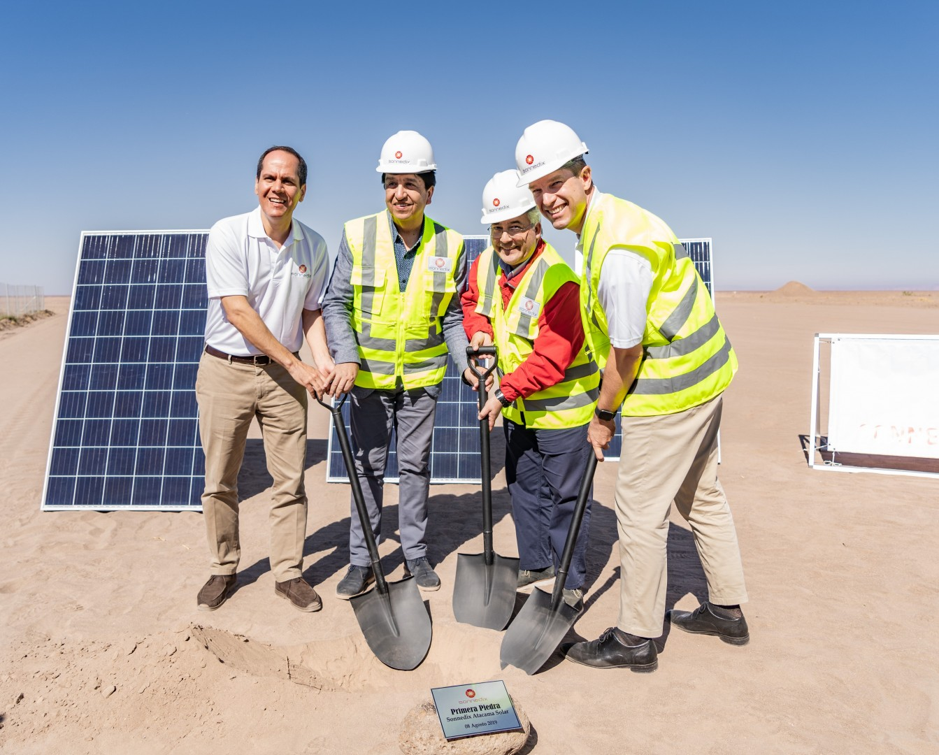 The ground-breaking of 171MW Atacama Solar sees Sonnedix hit a 500MW-plus portfolio of solar across various development stages (Credit: Sonnedix)