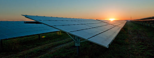 The two solar projects will have a combined solar generation capacity of 75.4MW. Image: Duke Energy