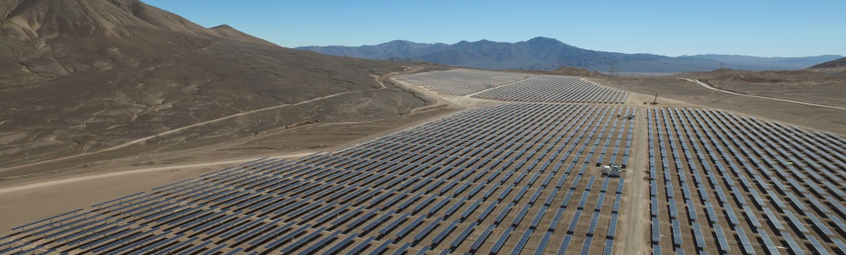 Valentine Solar has a generation capacity of 132MW and is located in Kern County, California. Image: EDF