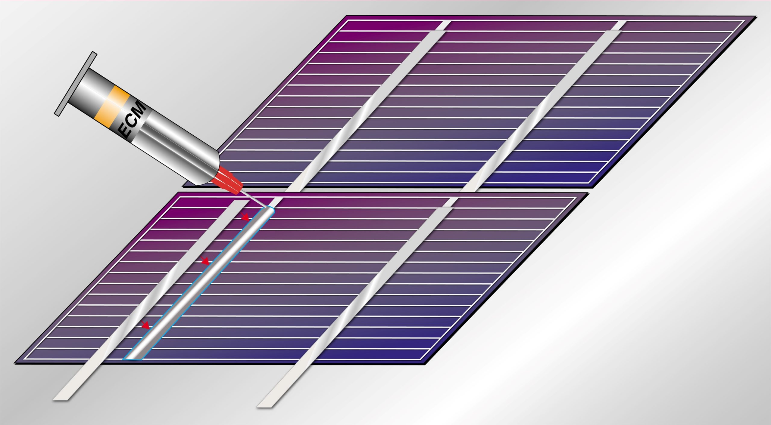 Engineered Material Systems (EMS) has launched a new 561-400 series low-cost 'snap cure' conductive adhesive, which is designed for stringing and shingling crystalline silicon and heterojunction solar modules.