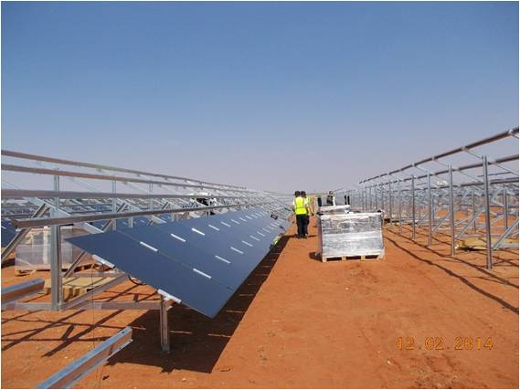 A previous South African PV project completed by Enel. Image: Enel Green Power.