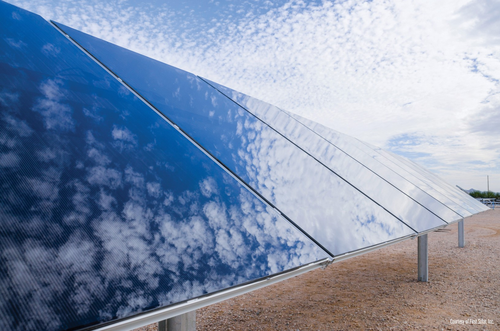 All three projects are scheduled to reach substantial completion by the end of the fourth quarter of 2019. Image: First Solar