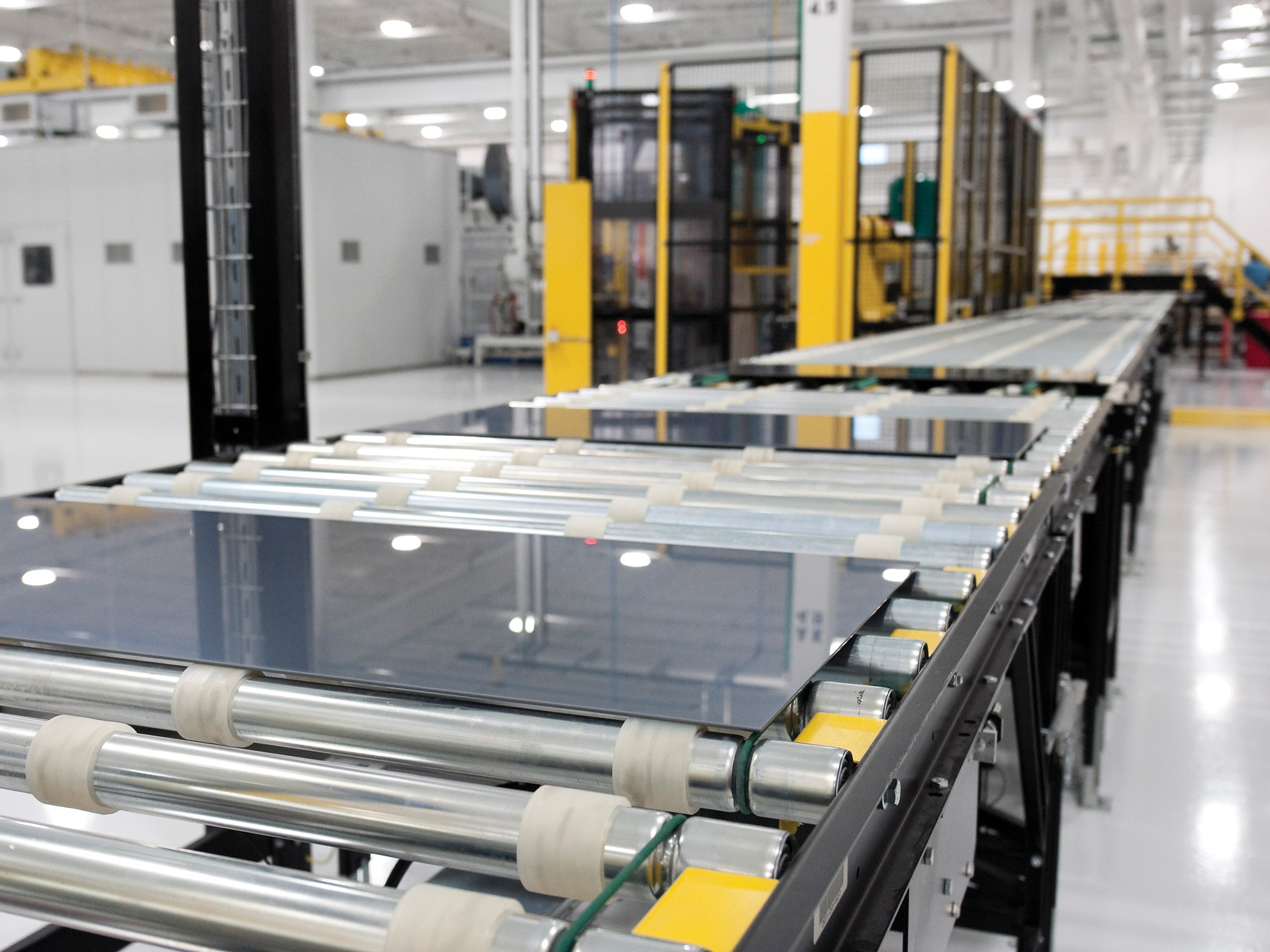 The company said it would not disrupt production for tool updates. Credit: First Solar.