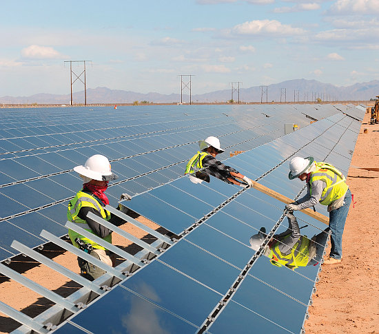 The largest cost declines were modelled in the utility-scale sector, which achieved cost reductions of 20%. Image: First Solar