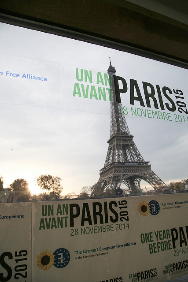 The COP21 talks in Paris are imminent but it remains to be seen if governments will back up words with action. Image: flickr user: greensefa.