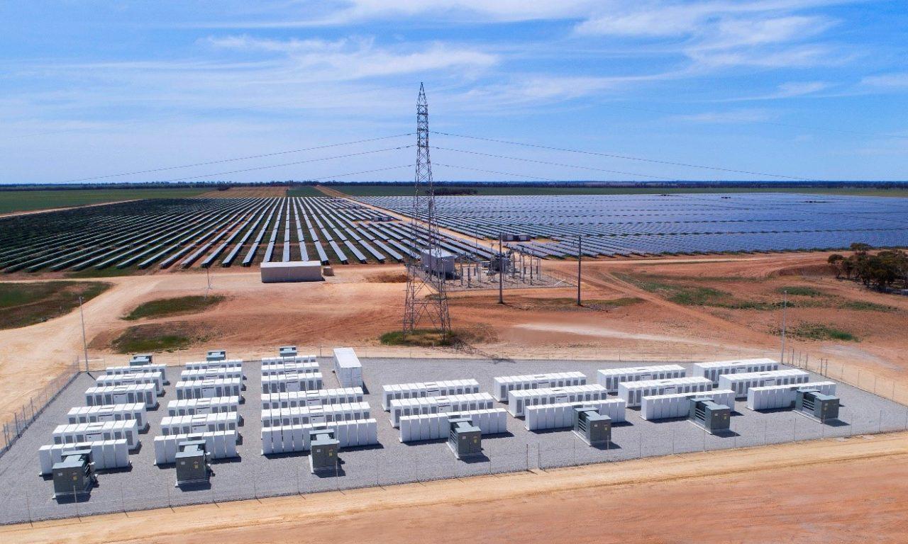 The Gannawarra Solar Farm, one of five affected by the curtailments. Image: Edify Energy.