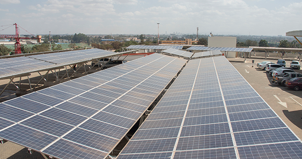 Solarcentury previously worked on a solar PV project in Kenya. Credit: Solarcentury