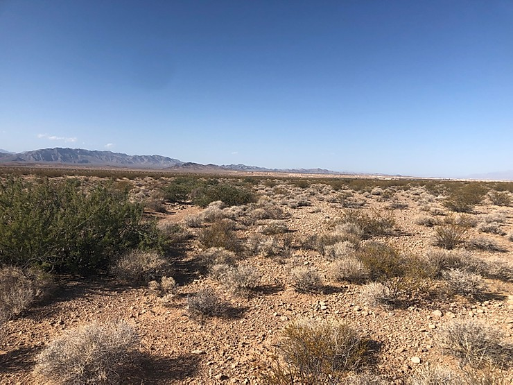 Not much to look at now, but this stretch of land in Clark County, Nevada, will host Gemini, the US' biggest solar-plus-storage facility announced so far. Image: Quinbrook.