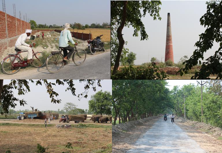 Approaching Tamkuhi Raj by road. Credit: Tom Kenning