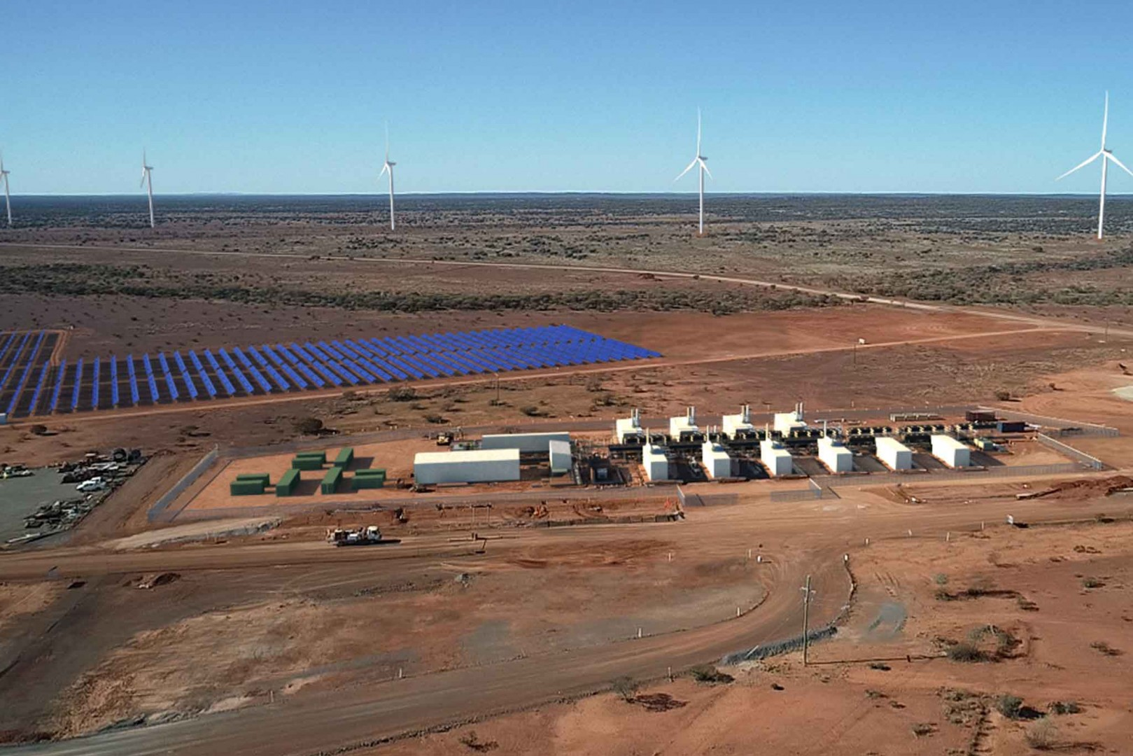 The development at Agnew. Credit: the Australian Renewable Energy Agency (ARENA).