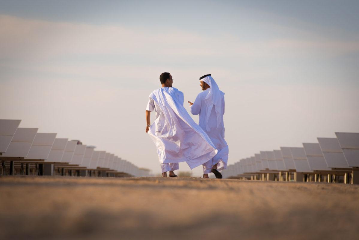 Masdar has shown the dramatic upside that bifacial technology can offer. Credit: Masdar.