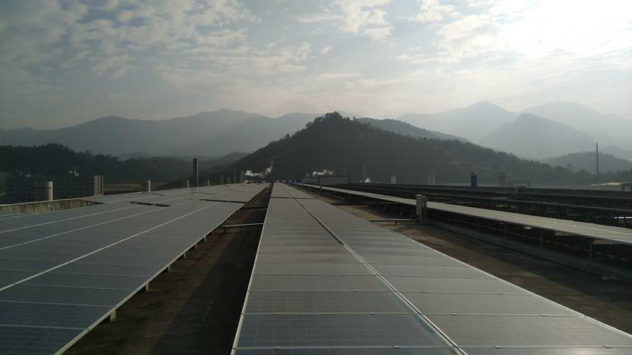 Hoymiles claims it to be the country's largest project using microinverters. Source: Hoymiles.