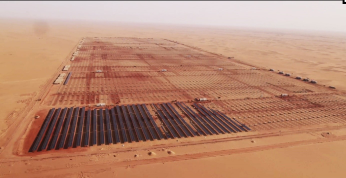 The Benban solar project in Egypt, one of ib vogt's developments. Image: ib vogt.