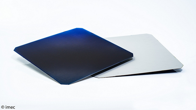 imec has detailed a path for its nPERT (n-type Passivated Emitter and Rear Totally diffused) solar cell technology to reach conversion efficiencies in excess of 24% for volume production applications. Image: imec