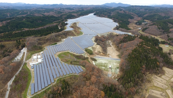 Pacifico Energy has successfully completed the launch of its first solar investment fund — which is comprised of five Japanese solar power plants totaling over 100 MW. Image: Pacifico Energy