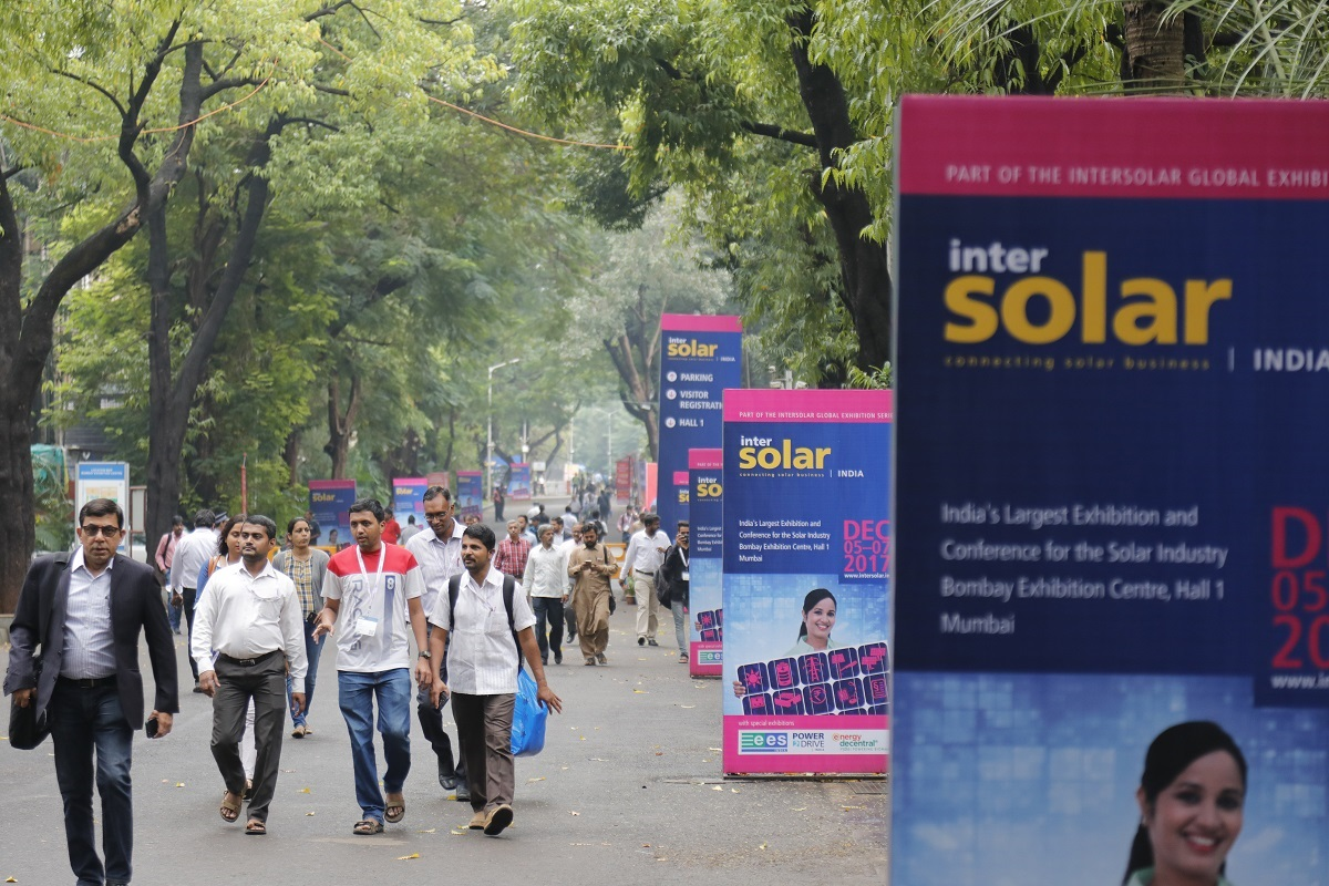 The tenth Intersolar India will take place in Bangalore. Credit: Solar Promotion GmbH.