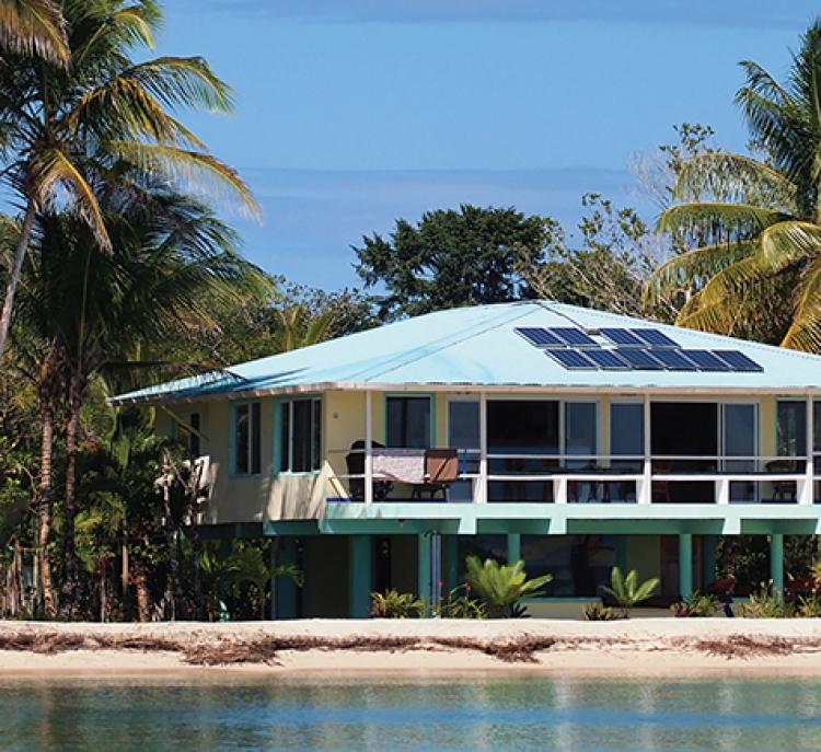 Fiji targets 100% renewable energy by 2030. Credit: IRENA