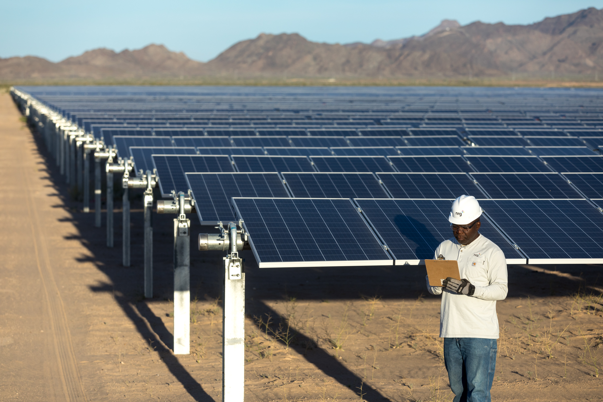 The solar farm will generate renewable power for use at the company's San Jose headquarters. Source: NRG Energy