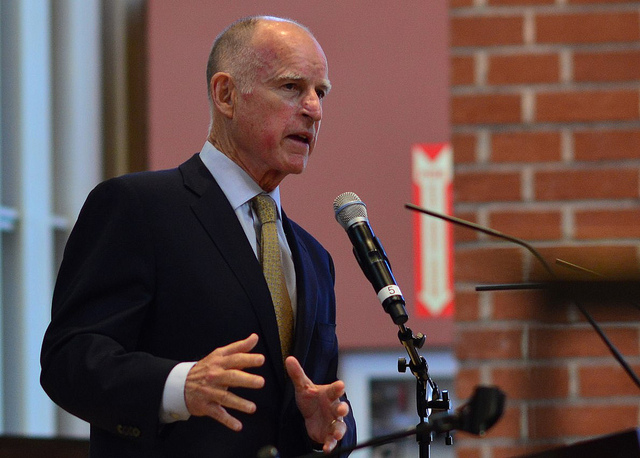 Brown said a number of strategies would be required to reach the 2045 goal. Source: Flickr/Neon Tommy.