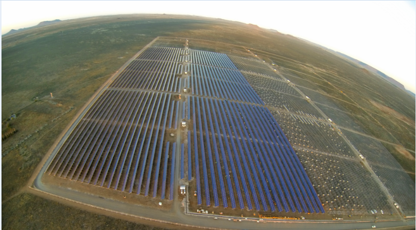 The Kalkbult project in South Africa. Source: Scatec Solar.