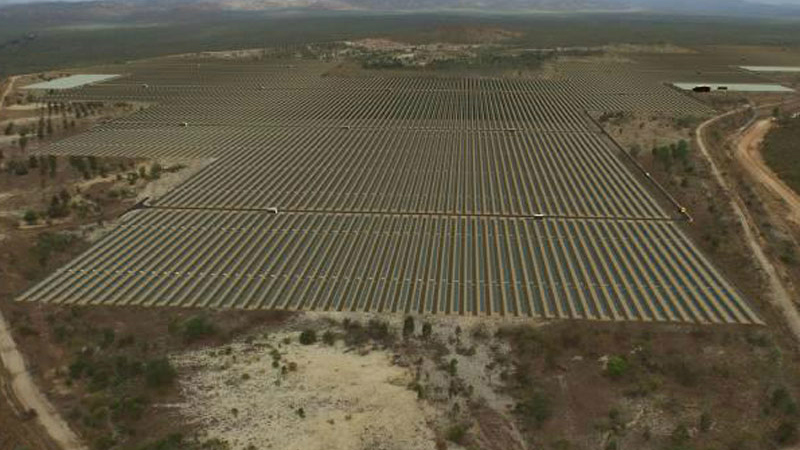 Aerial view of the 50MW Kidston project in North Queensland. Source: Genex