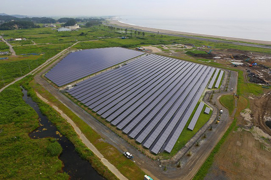 The 92MW project is expected to commence operations in Janurary 2020. Image: Kyocera