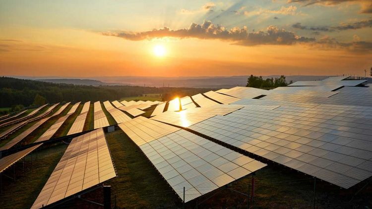 Investment in solar capacity stood at US$54.7 billion in H1 2020. Image: Getty.