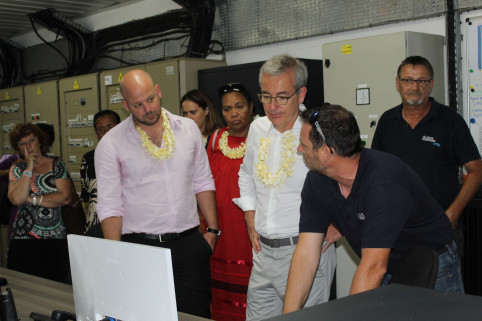 Local minister Christoph Gyges described the Lifou project as a model for what Pacific Island territories can achieve. Image: ENGIE EPS.