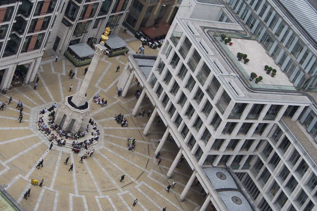 The London Stock Exchange. Source: Flickr/Elias Gayles/Creative Commons