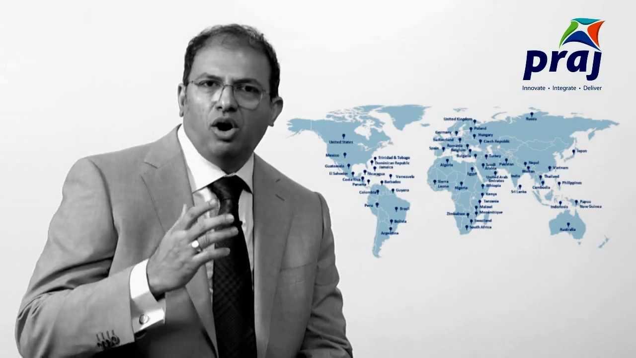 CleanMax's new CEO, Gajanan Nabar. Source: Praj