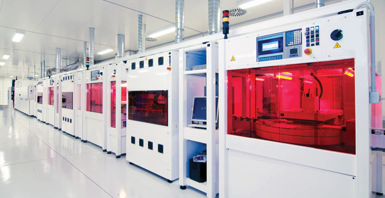 Valoe noted that it had acquired a solar cell production line from Megacell S.r.l., which was under liquidation, and a producer of bifacial n-PERT solar cells in Italy based on the ISC Konstanz technology. Image: Megacell