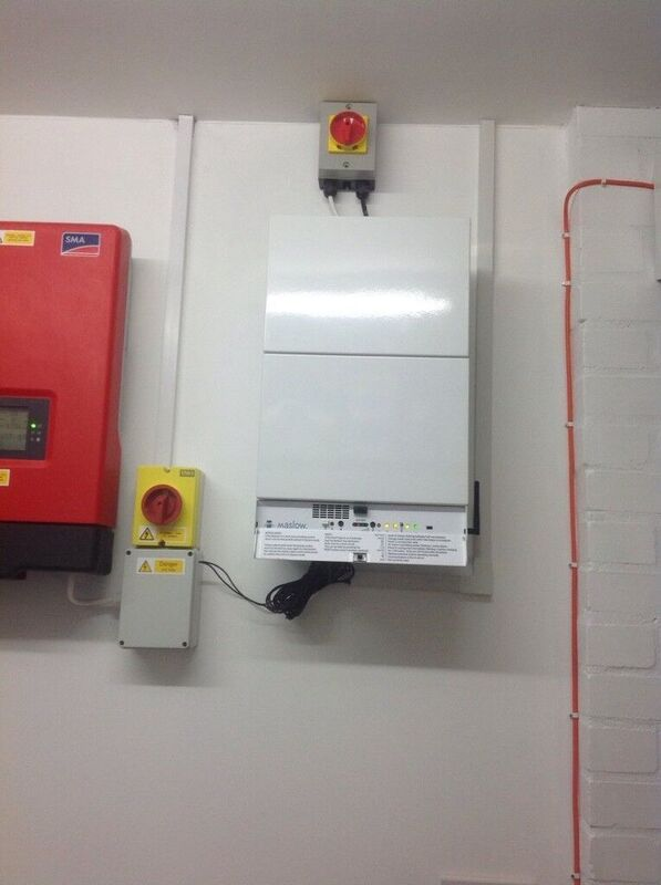 Moixa's Maslow storage unit in a UK residence. Image: Moixa.