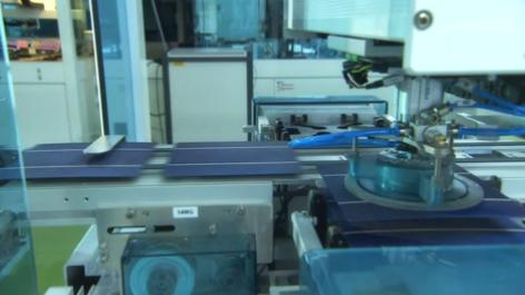 The company is estimated to reach around 3.6GW of annual solar cell capacity in 2017, which currently includes 1.6GW in China and 2GW in Taiwan. Image: Motech