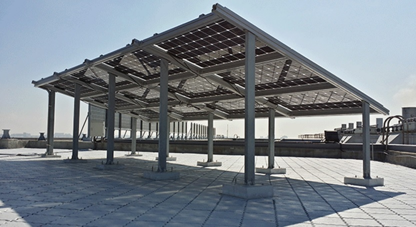 The module manufacturer also noted that the use of bifacial modules for the project is expected to generate around 5% extra output, compared with traditional solar modules within the limited space and expectation and impact of severe weather conditions. Image: NSP