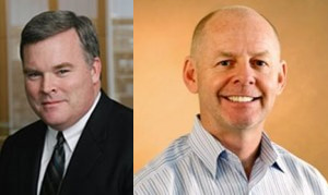 Ned Hall (left) and Robert Kelly (right). Source: Investors/Business Review